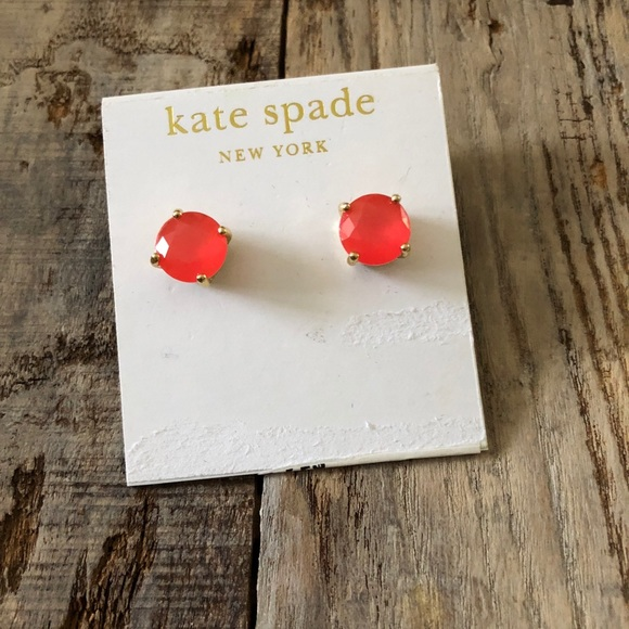 kate spade Jewelry - Kate Spade Pink Post